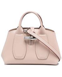 Longchamp Roseau ハンドバッグ - ピンク