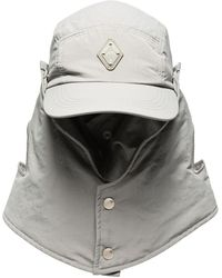 A_COLD_WALL* - * Grey Buttoned Desert Hat - Lyst