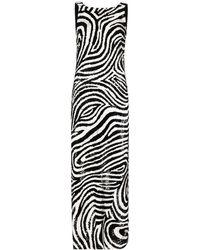 Ashish スパンコール ドレス - ブラック