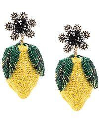 Mignonne Gavigan - Lemon Lux Earring In Yellow - Lyst