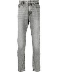 Karl Lagerfeld ブリーチ スリムジーンズ - グレー