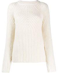 Aspesi Round-neck Sweatshirt - White