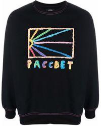 Rassvet (PACCBET) ロゴ スウェットシャツ - ブラック