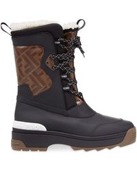 Fendi T-rex Snow Boots - Black