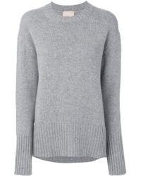 Drumohr - Ribbed Crew Neck Sweater - Lyst