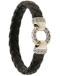 John Hardy 'Classic Chain' Armband - Schwarz