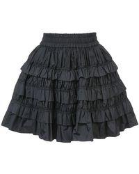 Jourden | Ruffled Mini Skirt | Lyst