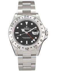 Rolex Наручные Часы Explorer Ii Pre-owned 40 Мм 2001-го Года - Черный