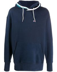 Tommy Hilfiger - Loose-fit Flag Patch Hoodie - Lyst