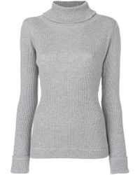 Veronique Leroy - Ribbed Knit Jumper - Lyst