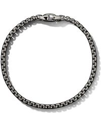David Yurman Box Chain Medium Bracelet - Металлик