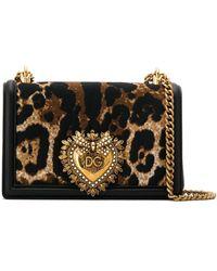 Dolce & Gabbana Devotion ショルダーバッグ - ブラック