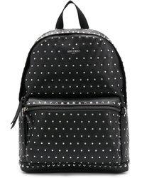 Jimmy Choo Studded Wilmer Backpack - Black