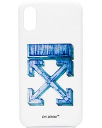 Off-White c/o Virgil Abloh - ロゴ Iphone Xs ケース - Lyst