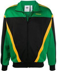 adidas - Panelled Logo Track Jacket - Lyst