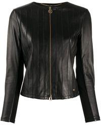 Liu Jo Leather Jacket - Black