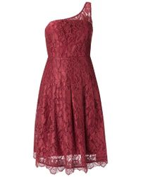 Martha Medeiros - Lace Asymmetric Dress - Lyst