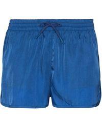 CDLP Costume da bagno con applicazione - Blu