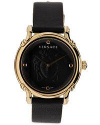 Versace Аналоговые Наручные Часы 34 Мм - Черный