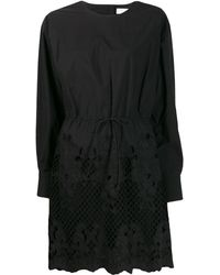 See By Chloé - Broderie レーザーカット ドレス - Lyst