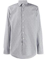 Etro Overhemd Met Logoprint - Blauw