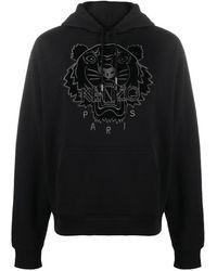 KENZO タイガー パーカー - ブラック