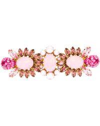 Dolce & Gabbana Verzierte Haarspange - Pink