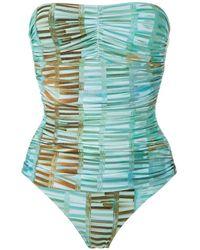 Lygia & Nanny Melissa Printed Swimsuit - Blue