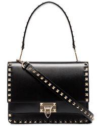 Valentino - Garavani Rockstud Shoulder Bag - Lyst