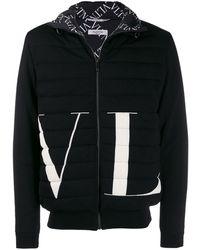 Valentino Gewatteerd Jack - Zwart