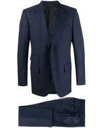 Tom Ford Costume classique - Bleu