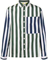 Sunnei - Striped Loose Shirt - Lyst