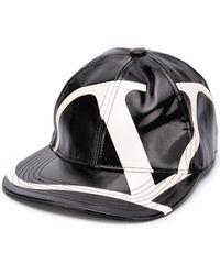 Valentino Кепка С Логотипом Vlogo - Черный