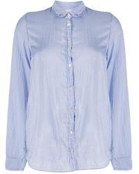 Forte Forte - Long-sleeved Semi-sheer Shirt - Lyst