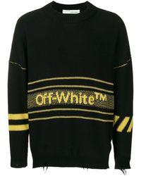 3547db6f996 Logo Knit Sweater - Black