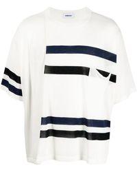 Ambush ストライプ ニットtシャツ - ホワイト