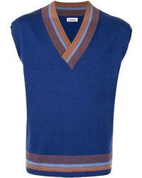 Coohem V-neck Jumper Vest - Blue