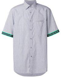Calvin Klein - Gano Modern Stripe Short Sleeve Shirt - Lyst