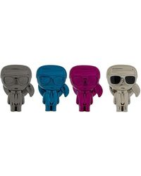 Karl Lagerfeld K/ikonik Metallic Pin Set