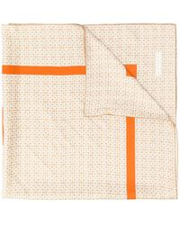 Givenchy Printed Scarf - Brown