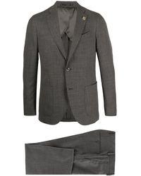 Lardini ツーピース スーツ - グレー