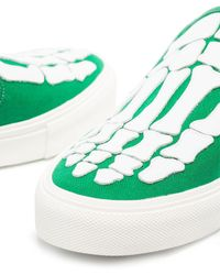 Amiri Skel Toe Slip-on Sneakers - Green