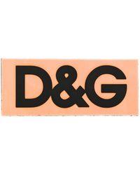 Dolce & Gabbana Applicazione D&G - Arancione