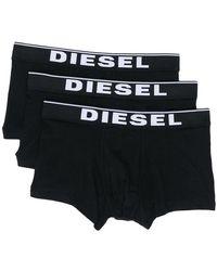 DIESEL - Umbx-damien Three Pack Boxers - Lyst