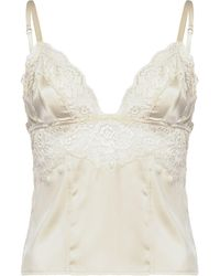 Pinko Lace-trimmed Camisole - White