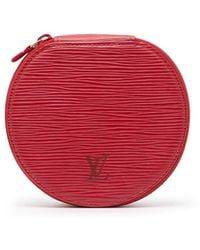 Louis Vuitton Pre-owned Épi Ecrin Bijous 12 Jewellery Case - Red