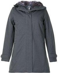 Save The Duck Пальто С Подкладкой Из Искусственного Меха - Серый