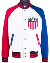 Polo Ralph Lauren - パネル ボンバージャケット - Lyst
