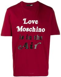 Love Moschino - Is In The Air Tシャツ - Lyst