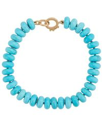 Irene Neuwirth - 18kt Yellow Gold Bead Bracelet - Lyst
